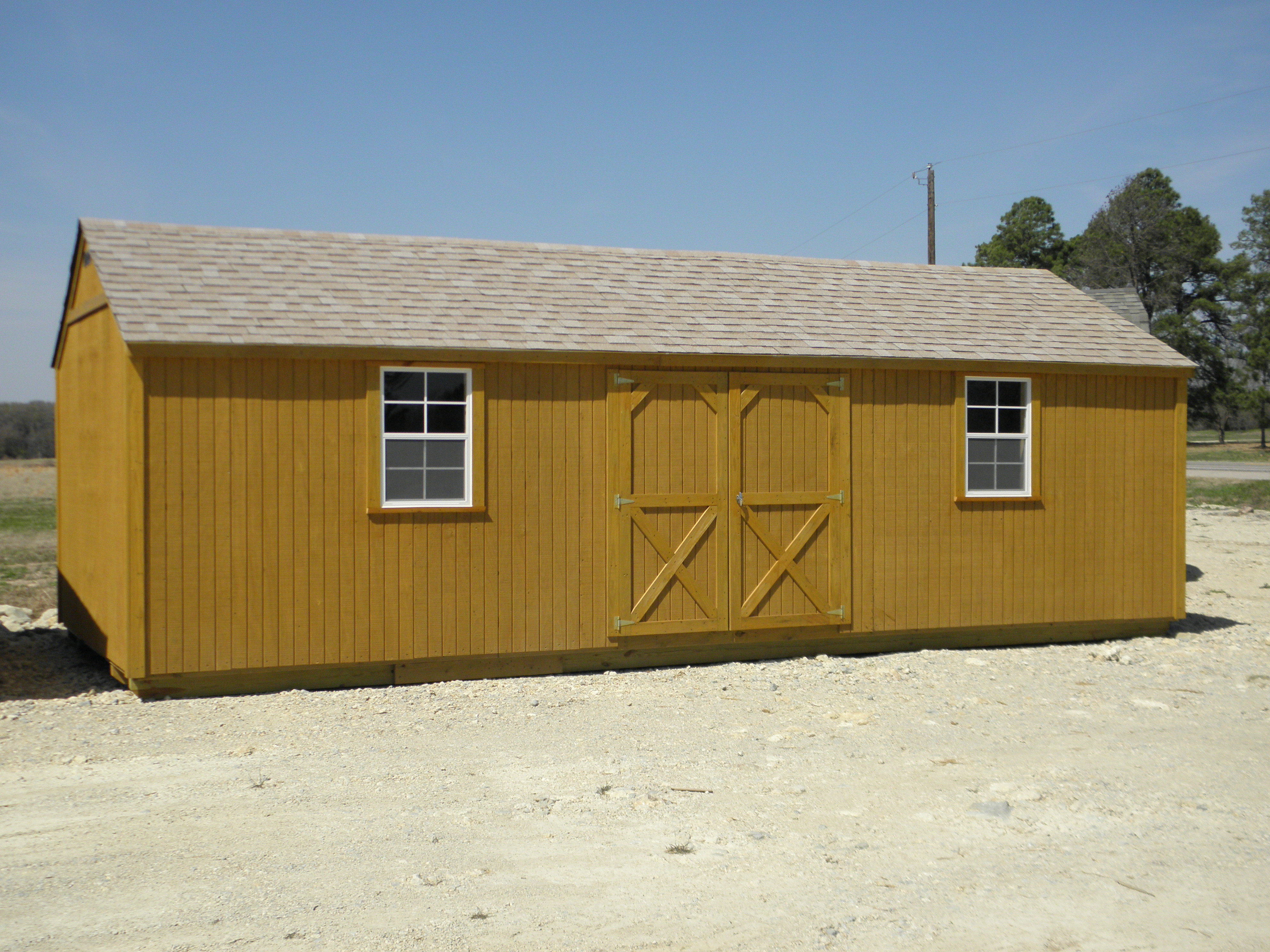 Picture gallery ben 39 s barns 903 269 8130 for 12x28 shed